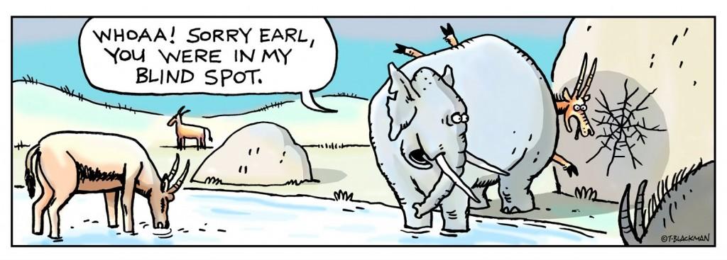 Desculpe Earl, você estava no meu ponto cego